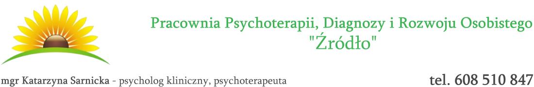 """Pracownia Psychoterapii, Diagnozy i Rozwoju Osobistego """"Źródło"""""""